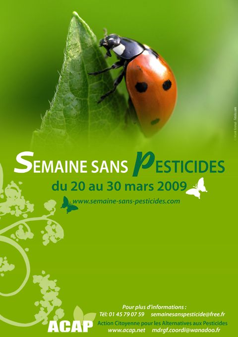 Photos - Semaine sans pesticides 2009