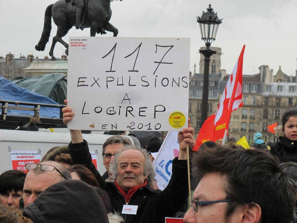 Album - Manif contre les expulsions 12 mars 2011