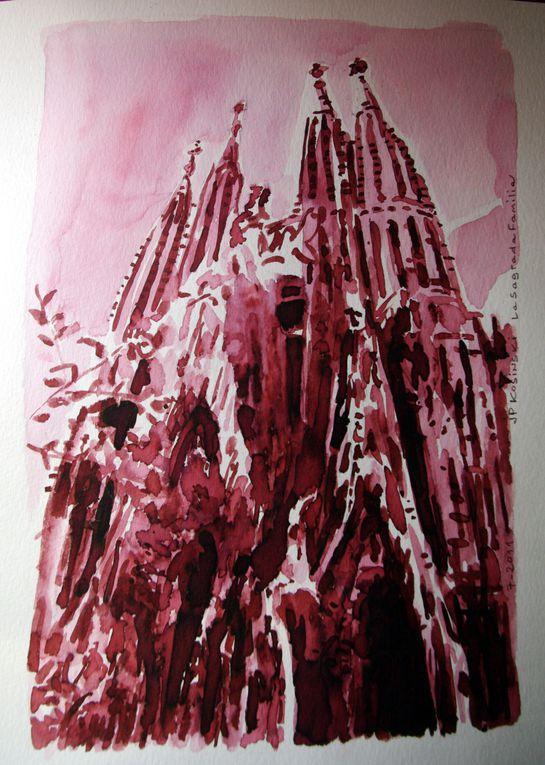 Voici une série de photographies réalisées durant notre séjour dans la capitale catalane, en août 2009. De nombreuses réalisations de l'architecte d'art Antoni Gaudi visitées et admirées. Une ville à voir, pour les amateurs d'architecture.Q