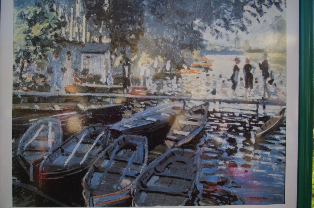 Promenade autour des sites des peintres impressionnistes et leurs oeuvres dans les Yvelines, la plupart en bord de Seine.Les 5 promenades pédestres proposées par circuit.