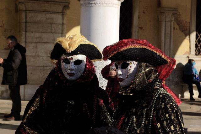 Des images de rêve de Venise en hiver, et ses festivités grandioses durant cet évènement.