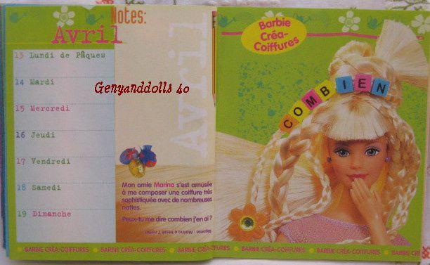 Album - Catalogue-Mattel-Barbie-1998