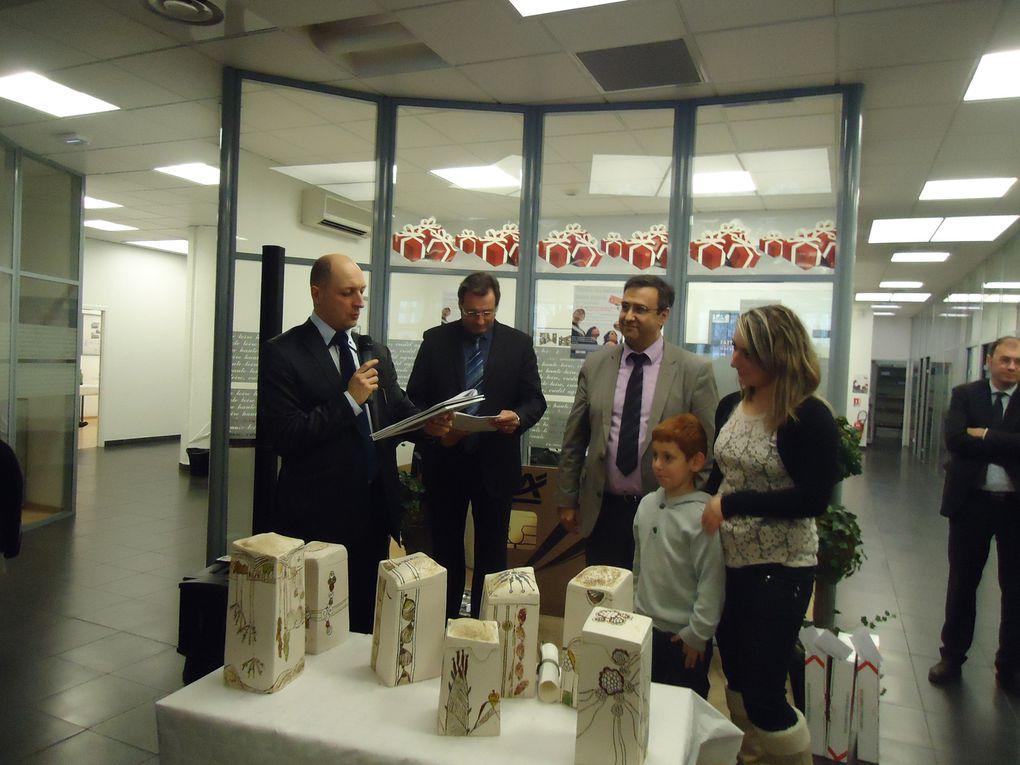 Remise des récompenses aux jeunes espoirs 2011
