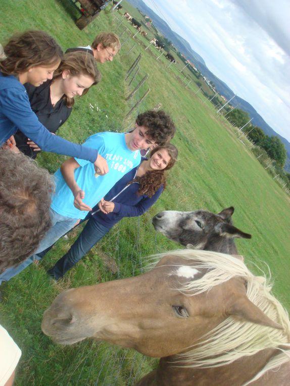 Visite de la ferme de la Jalabertière à Chavanne exploitée par M. et Mme BERLIER