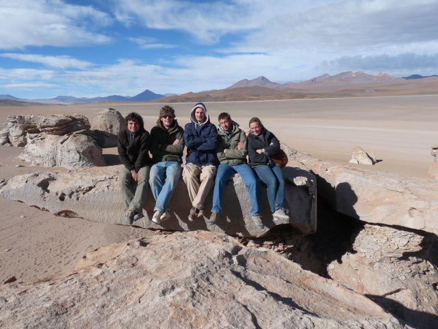 tour de 4X4 dans l'altiplano de la Bolivie. Des paysages somptueux a plus de 4000 metres.