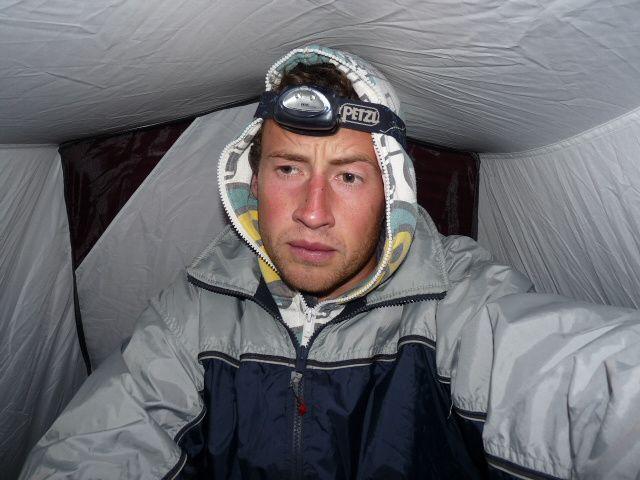un petit treking sur la crodillera real amenant à un glacier perché a 5000 métres!
