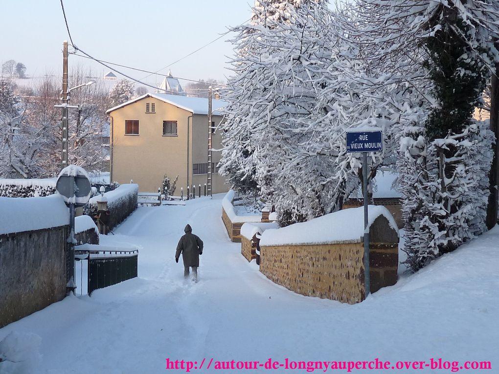 neige de janvier 2010 et décembre 2010
