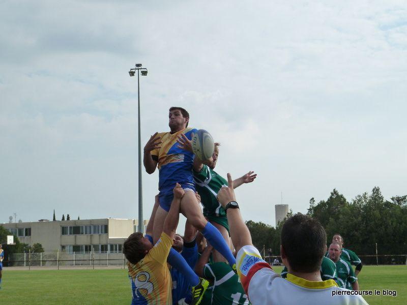 gros match belle victoire 26 a 13 face a pernes le 25 sepembre 2011