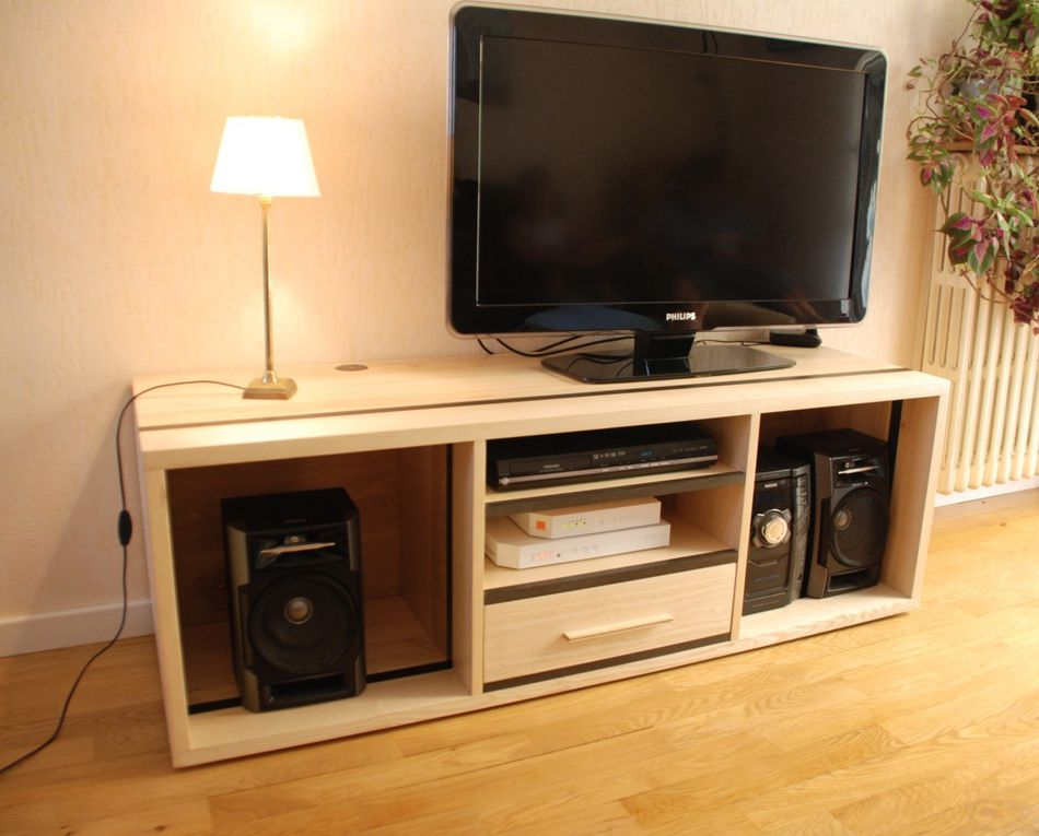 Album - Meuble-TV-HiFi-contemporain