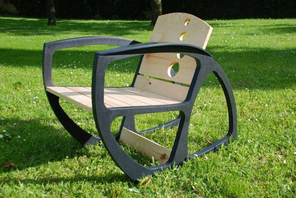 Fauteuil de jardin et d'extérieur de la colection BullE nouvelle version, plus chic, plus design, plus tendance...