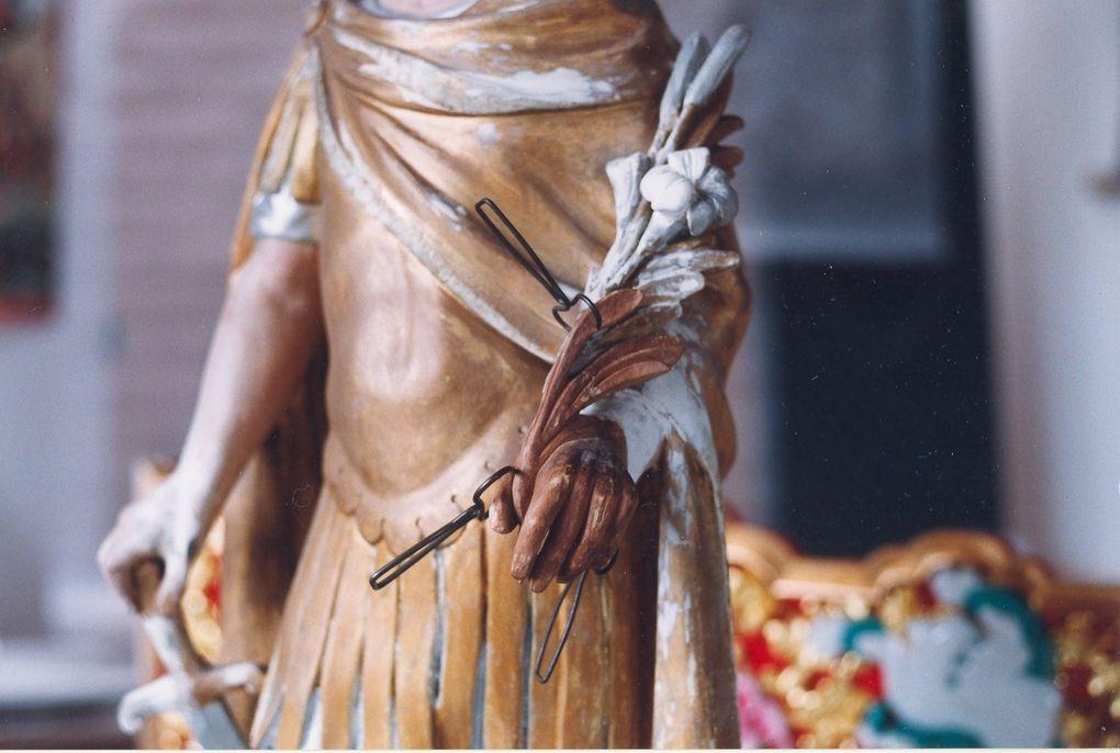 Créations et rénovations d'objets polychrome, oeuvres réalisé en écosse et en Auvergne.