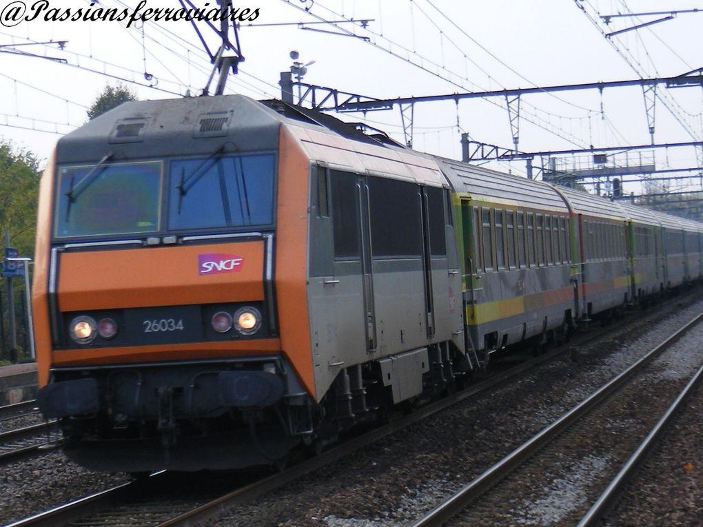 Locomotives électriques bi- courant