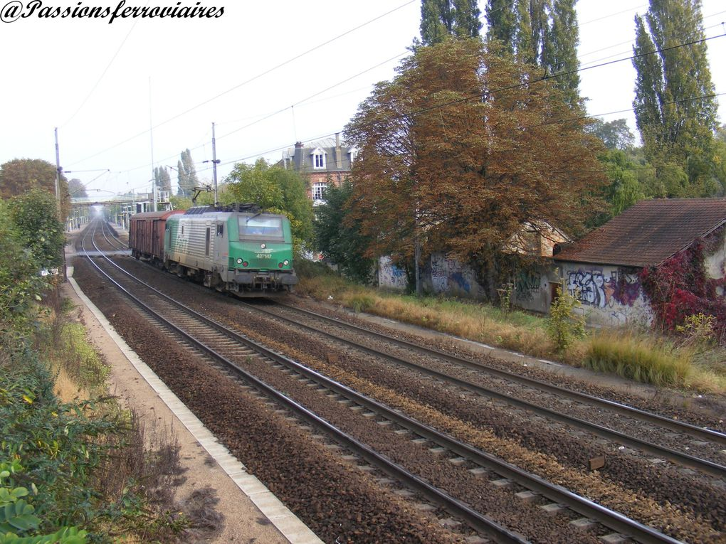 Locomotives électriques bi-courant.
