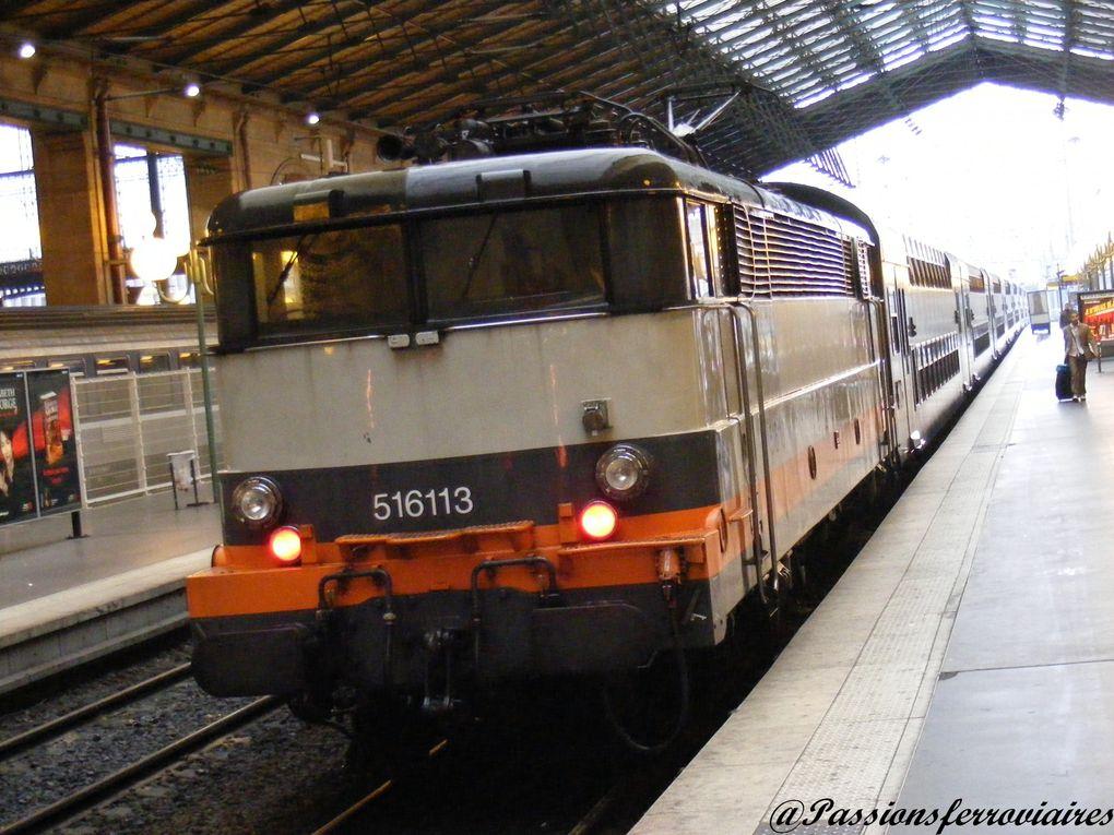 Locomotives électriques à courant alternatif.