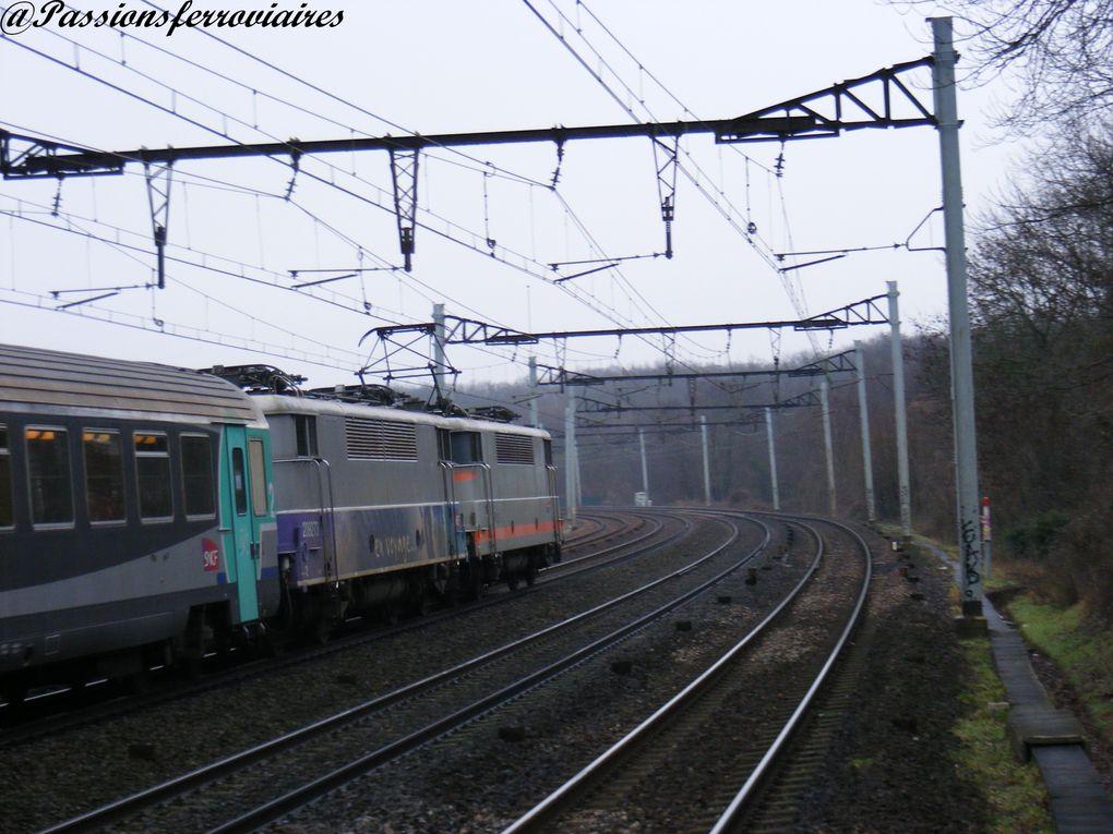 Locomotives électriques à courant continu