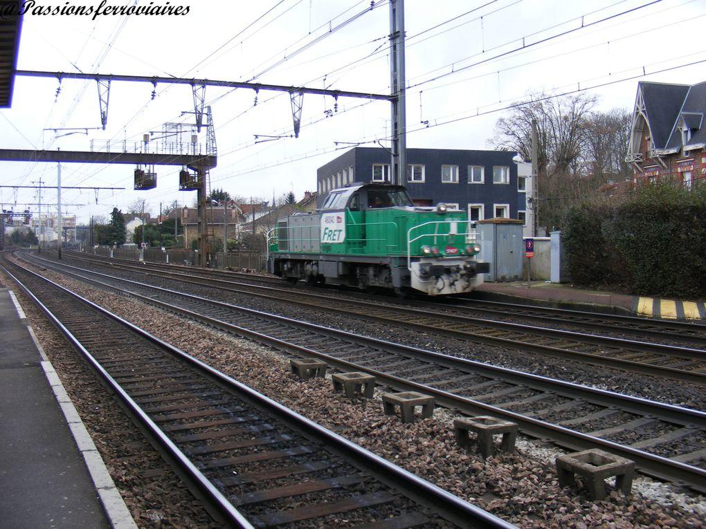 Locomotives diesels en ligne