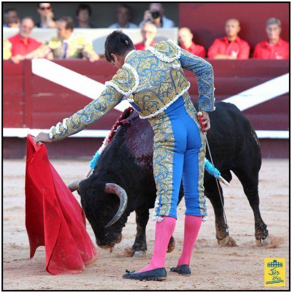 Arènes du Palio à Istres-Vendredi 15 juin 2012-18H00 Corrida  6 Nunez del Cuvllo pour Antonio BARRERA, Jose-Mari MANZANARES et Alejandro TALAVANTE 6 Cavalerie lain BONIJOL