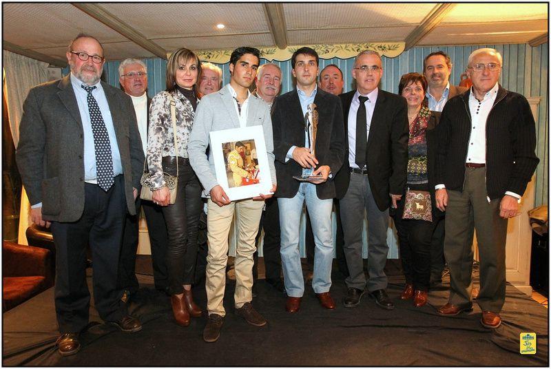 Samedi 17 février 2013-Réception en l'honneur du maestro Javier Castaño et du picador Alberto Sandoval au Nîmotel, nouveau siège de l'Union Taurine Nîmoise.