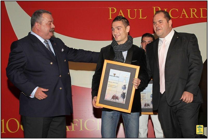 59ème Assemblée Générale de l'Union des Clubs taurins Paul Ricard à MEJANES le samedi 25 janvier 2013