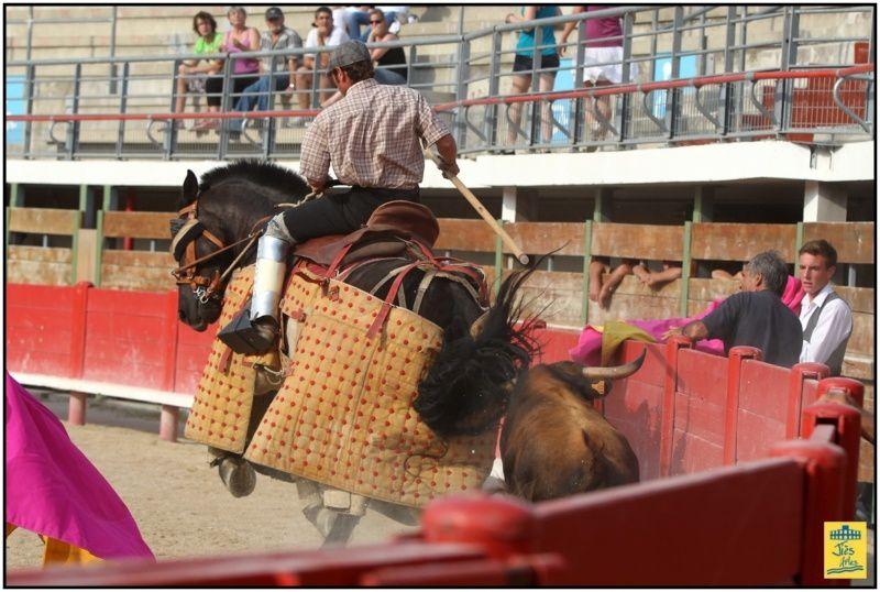 Samedi 30 juin 2012 Grand Spectacle équestre et taurin animé par la banda Los Espartacos de Mugron