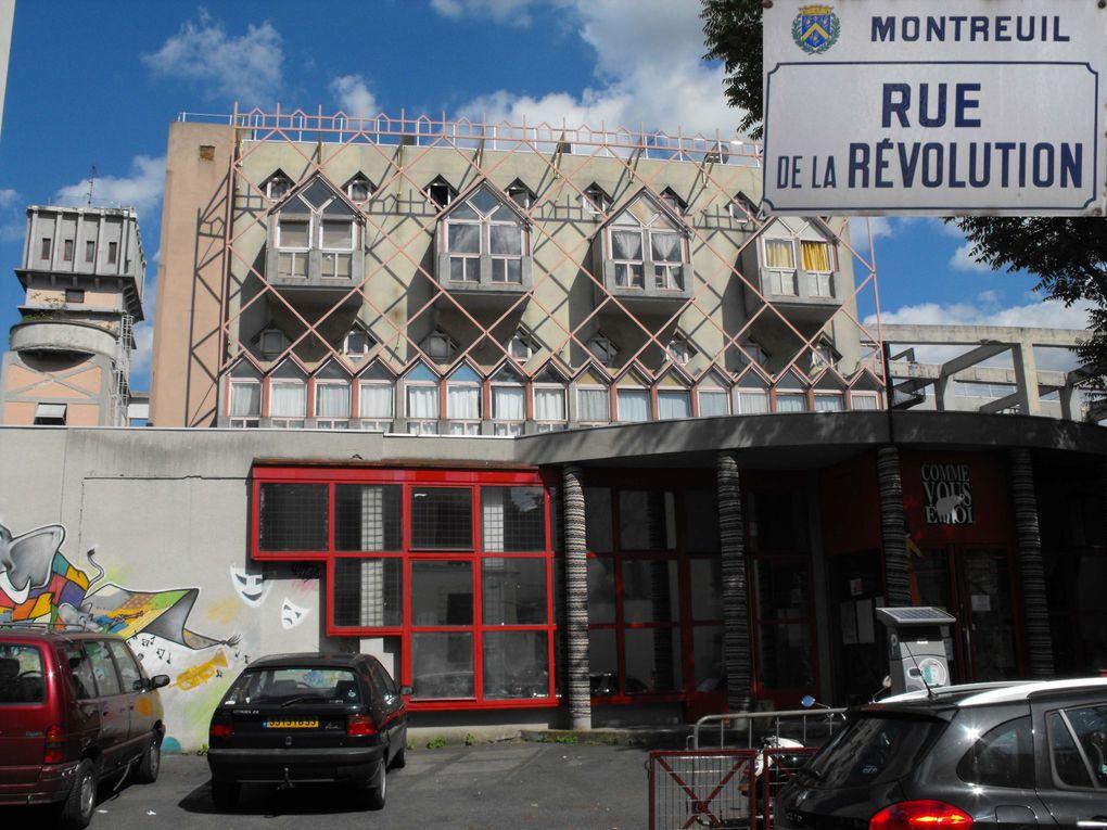 Album - Quartiers : Bas Montreuil République / Etienne Marcel - Chanzy - Bobillot