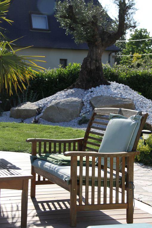 Arbor Minéral paysagiste à Vannes aménage votre jardin avec la plantation de sujet provenant de pépinière espagnol. Vente, livraison et plantation d'oliviers pour ambiance méditerranéenne