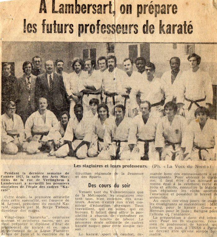 En 1974, je suis champion du Nord en Légers et en toutes catégories