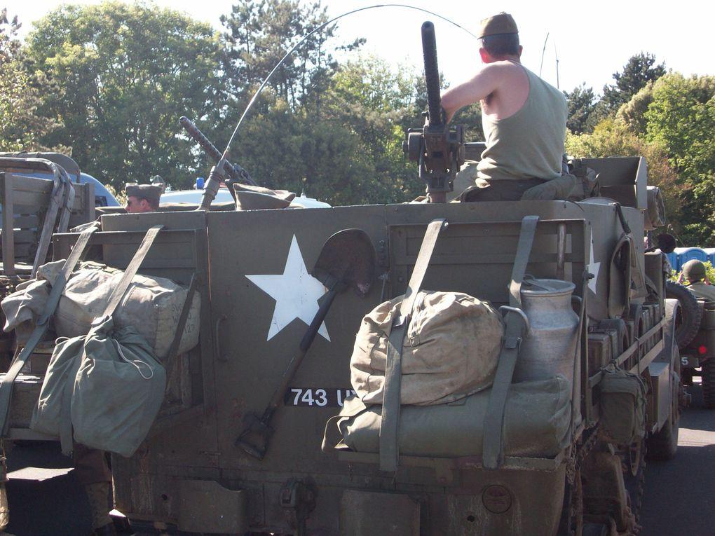 Week end du 5/6/7 Juin 2009Petit aperçu du défilé incessant de véhicules militaires
