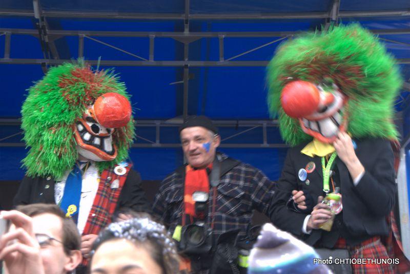 Béthune, Carnaval 2010, le 28 mars