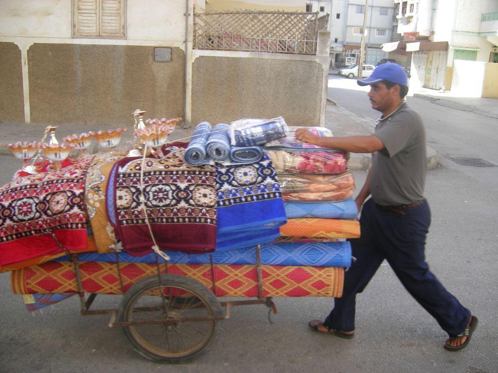 métiers oublié dans nos régions , echopes de marchands , ambulants, le travail de la nourriture et les vendeurs