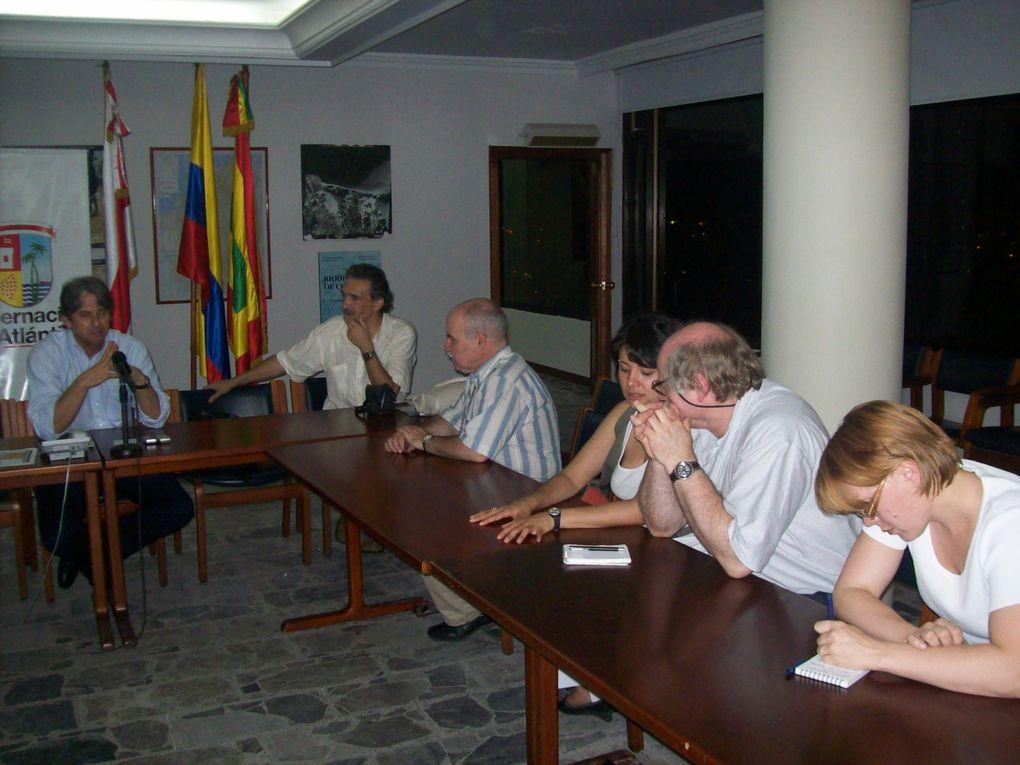 Reunión con delegados europeos de la FIP y sindicato de Suecia Lot Co, Fecolper y ACSA.