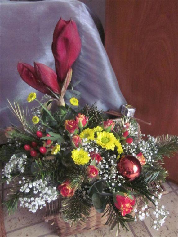 la déco florale du mariage de mon fils et autres compositions
