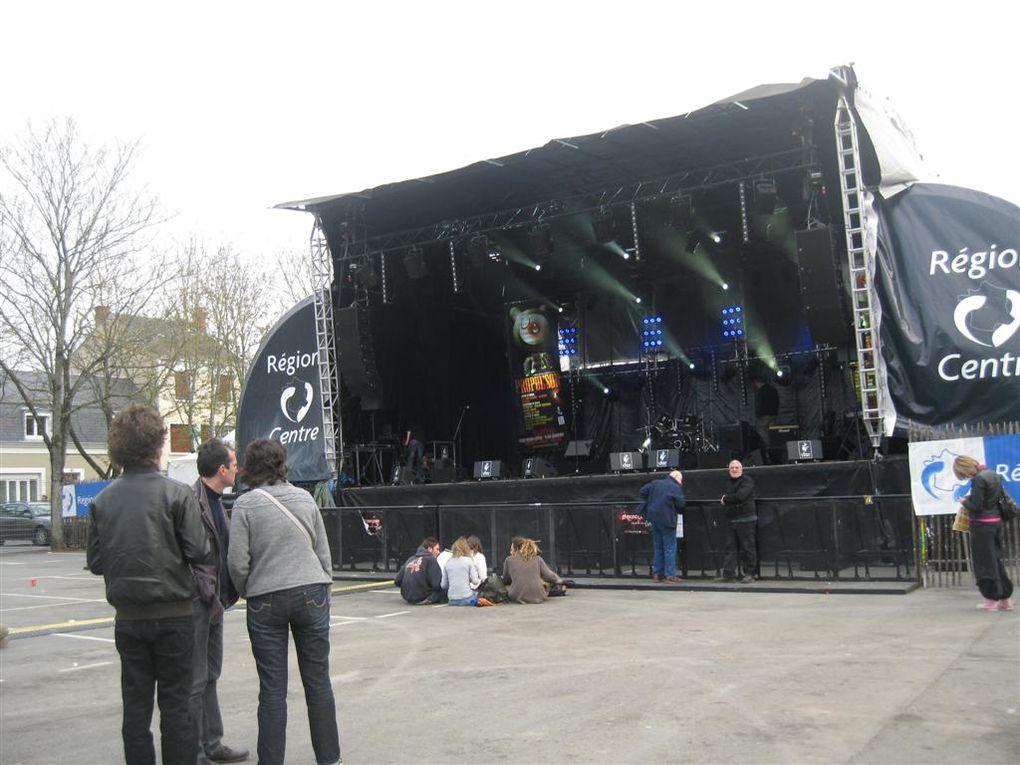 quelques images insolites du festival de la chanson le printemps de Bourges 2010