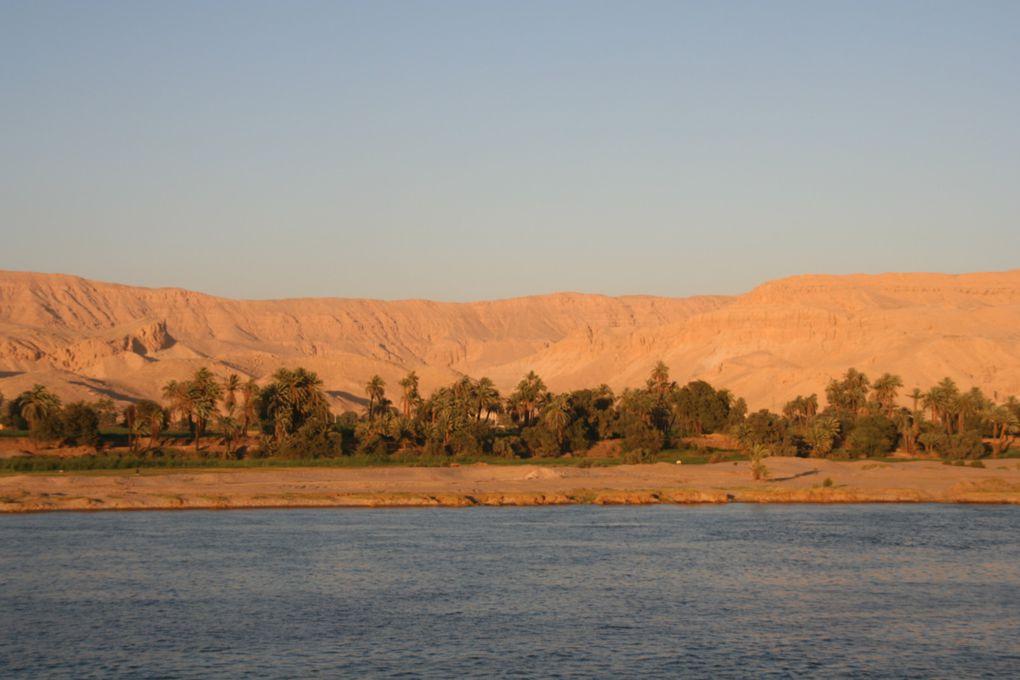Découverte des merveilles des rives du Nil à bord de notre bateau