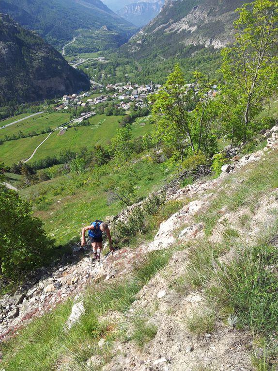 Reconnaissance aujourdhui du 2ème jour du Grand Trail Des écrins du 22 et 23 juin.Ces quelques photos pour vous donner envie de venir.La montagne retrouve sa verdure et sa beauté aprés de longs mois de blanc!!