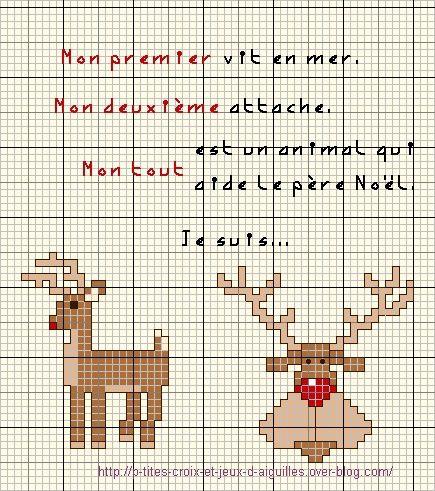 Pas à pas, grilles, tuto...autour du thème de Noël.