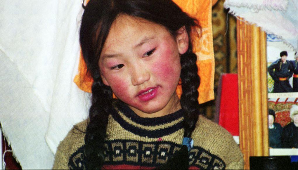 Lors d'un séjour avec les nomades Mongols en février 2006.Entre chamanisme et bouddhisme, j'ai découvert la culture Mongol.