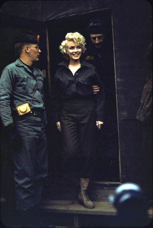 Marilyn lors de son voyage en Corée