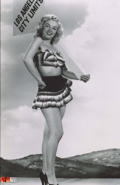 Marilyn Monroe en mode Pin-Up