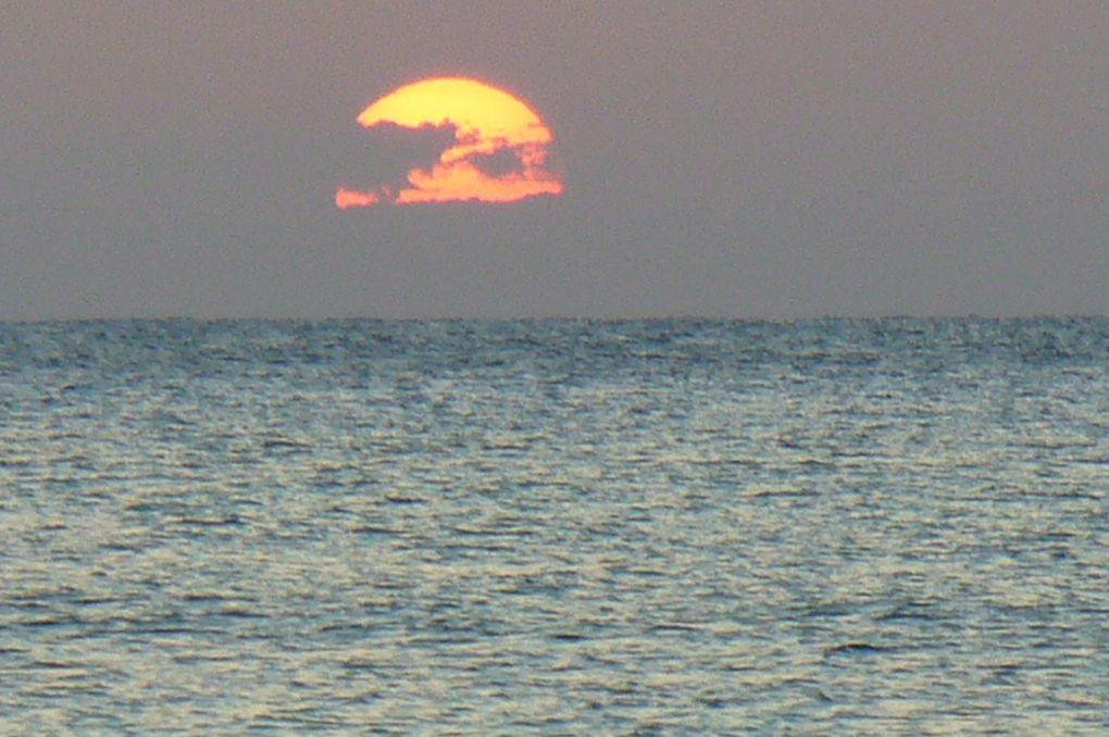 Vous pourrez voir les magnifiques couchers de soleil que j'ai photographié le soir sur la plage, les paquebots qui quittent le port de Cozumel, les jardins et la plage de ce magnifique endroit.