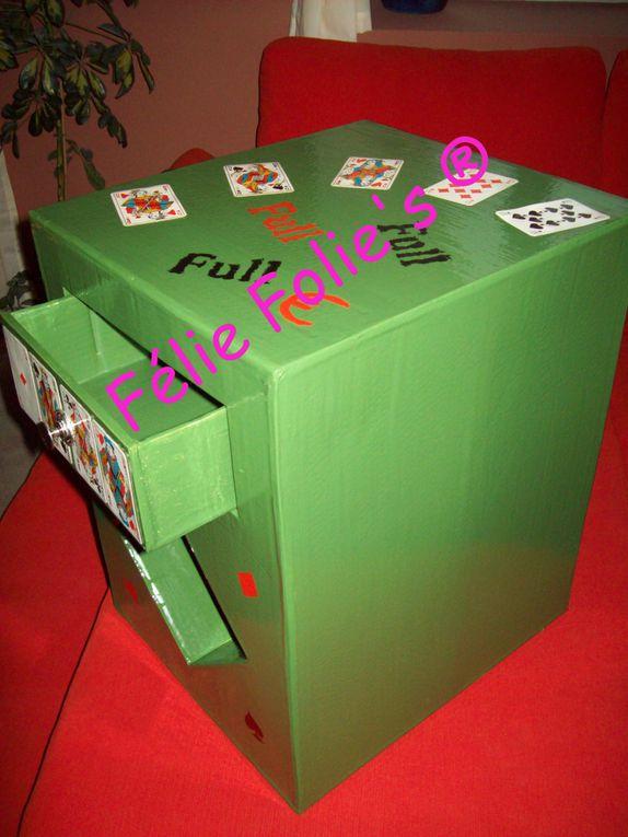 Album - Meuble en carton