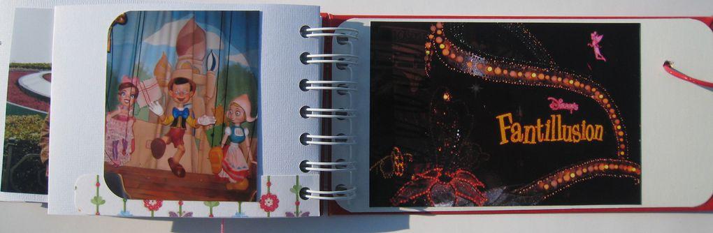 Disney en été 2007 et en hiver 2008