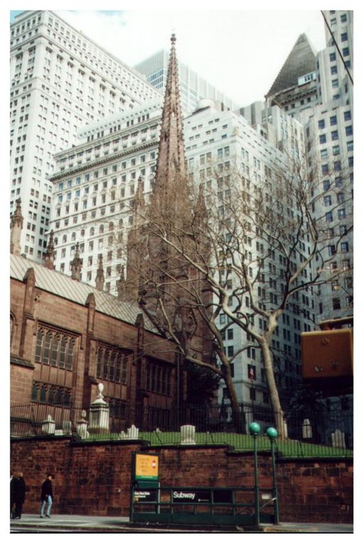 New York in martie-aprilie 2000, cu WTC in picioare....