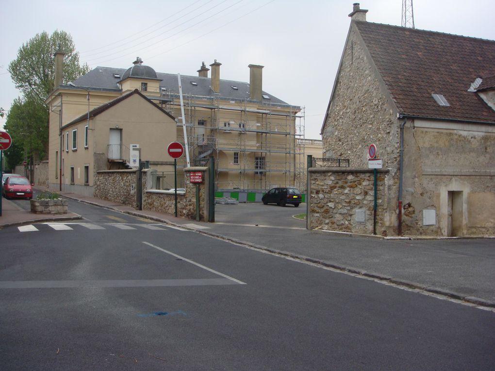 Visite du CIS de Montgeron