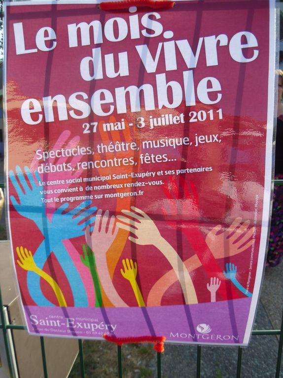 Expostion sur la résidence La Forêt avec le concours des habitants du quartier et du centre social Saint Exupéry