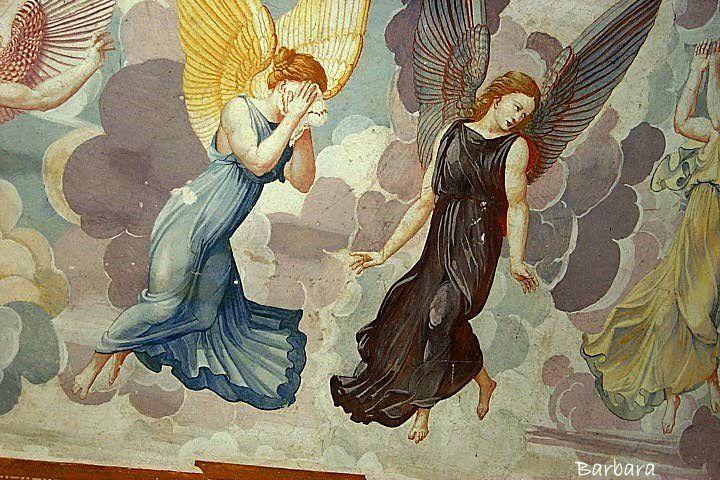 Gli angeli della Cappella del Paradiso