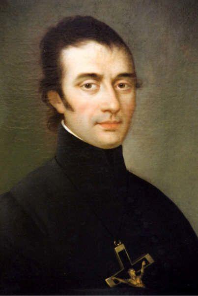 Eugenio de Mazenod (1782-1861) Obispo de Marsella, fundador de la Congregación de los Misioneros Oblatos de María Inmaculada.Declarado santo de la Iglesia, el 3 de diciembre de 1995, se reconocen dos ejes fundamentales de su vida: amor y celo