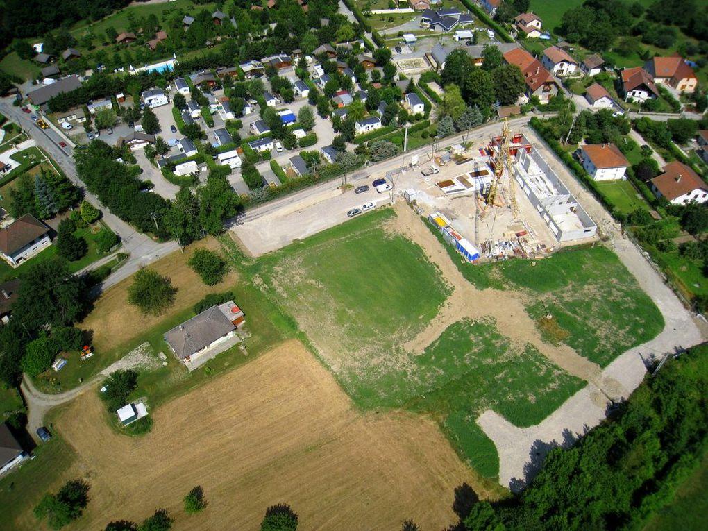 Travaux de la nouvelle école de Vaulnaveys le bas. 30 Juin 20098.