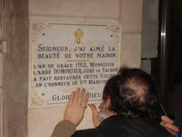 """"""" Quand le rappel du travail des anciens nous stimule ..."""" (André LELO, Faches-Thumesnil, 26 février 2010)"""