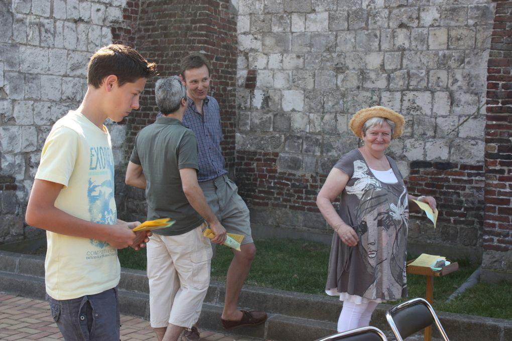 Pt déj, expositions, messe en plein air, réouverture officielle de la salle Ste Marguerite rénovée, baptême, repas-auberge espagnole, jeux, danse ...